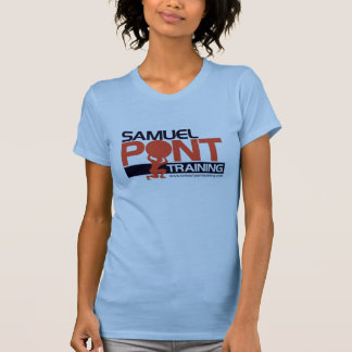 サムのpontの訓練の女性のTシャツ Tシャツ