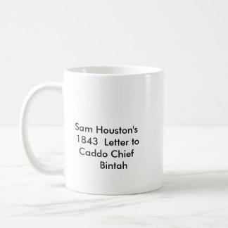 サムヒューストンの手紙 コーヒーマグカップ