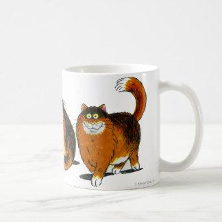 """""""サム""""猫のマグ コーヒーマグカップ"""