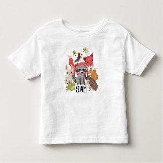 """サム""""私のヤードの動物"""" トドラーTシャツ"""