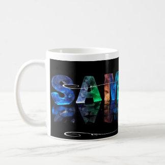 サム- 3Dの一流のサムはつきます(写真) コーヒーマグカップ