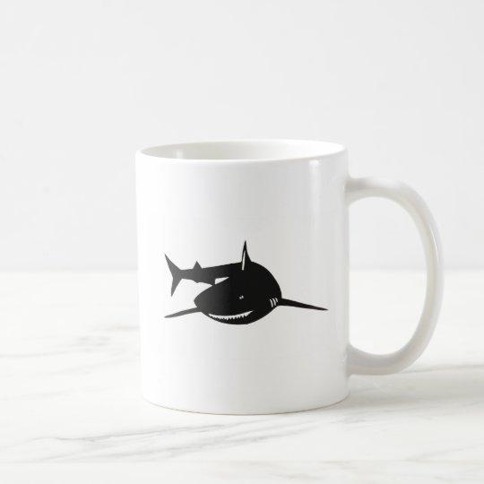 サメ 鮫 切り絵 グッズ コーヒーマグカップ