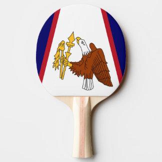 サモアの旗が付いている愛国心が強い卓球ラケット 卓球ラケット