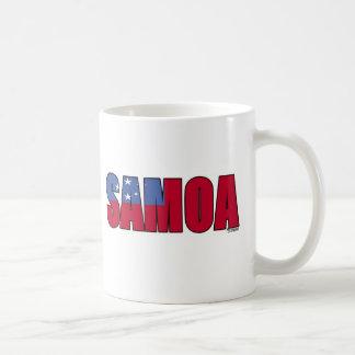 サモアの旗 コーヒーマグカップ