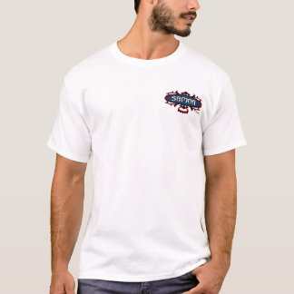 サモアの波Ava (赤くか青) Tシャツ
