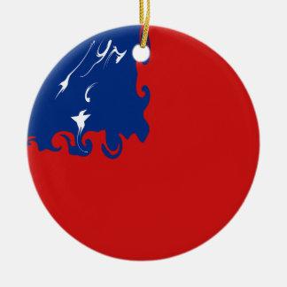 サモア|すごい|旗 クリスマスツリーオーナメント