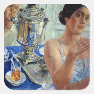 サモワール、1926年 スクエアシール