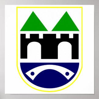 サラエボの紋章付き外衣 ポスター