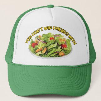 サラダ帽子を持つ友人に勝ちません キャップ