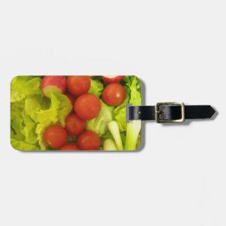 サラダ野菜のカスタムな荷物のラベル ラゲッジタグ