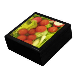 サラダ野菜のギフト用の箱 ギフトボックス