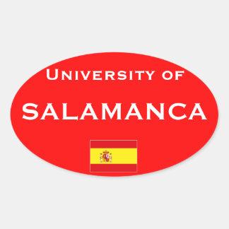 サラマンカのヨーロッパ式のステッカー 楕円形シール