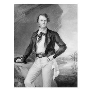 サラワク州1847年のジェームスBrooke Rajah ポストカード