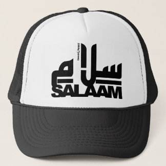 サラームの黒 キャップ