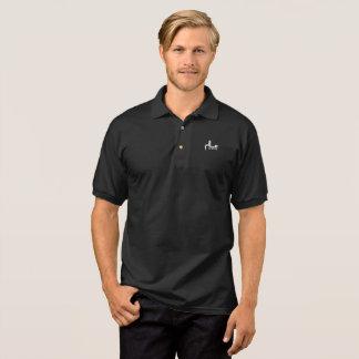 サラームはゴルフワイシャツ-暗闇--を遊ばします ポロシャツ