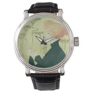 サラ・ベルナールのポートレート 腕時計