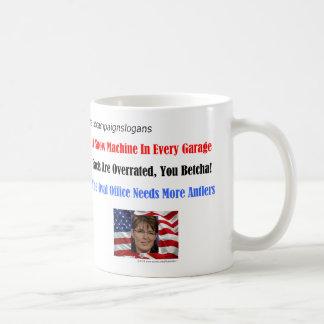 サラ・ペイリン氏のキャンペーンスローガン2 コーヒーマグカップ