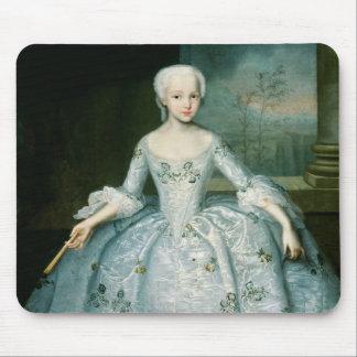 サラEleonor Fermor 1749-50年のポートレート マウスパッド
