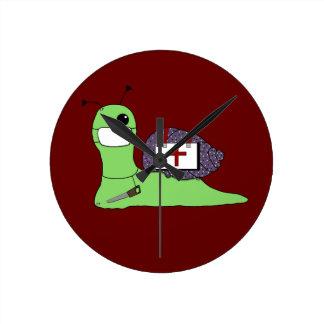 サリバン木の医者 ラウンド壁時計
