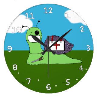サリバン木の医者 ラージ壁時計