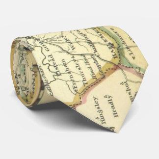 サリー州郡、Grayshottイギリスの地図(1842年) ネックウェアー
