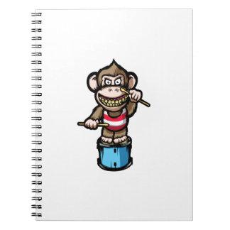 サルのドラム ノートブック