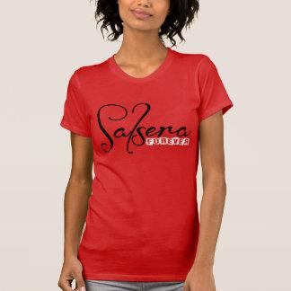 サルサのダンサーのための永久にSALSERAのTシャツ Tシャツ