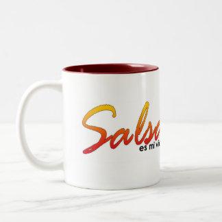 サルサのマグ ツートーンマグカップ