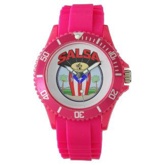 サルサの時間! 腕時計