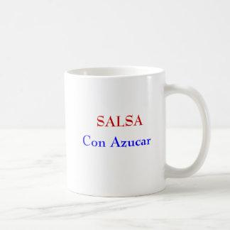 サルサの詐欺のAzucarのマグ コーヒーマグカップ