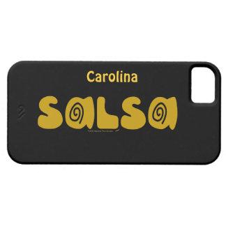 サルサの踊りは名前入りなiphone 5gカバー渦巻きます iPhone SE/5/5s ケース