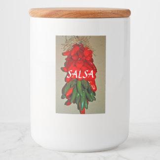 サルサの食糧容器のラベル フードラベル