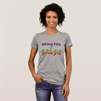サルサのTシャツに熱中される Tシャツ