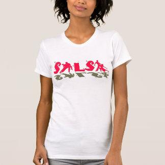 サルサのTシャツ-サルサのダンスの恋人のための… Tシャツ