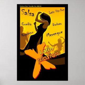 サルサ-ラテン系のX夜 ポスター