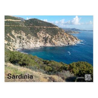 サルジニアの全景 ポストカード