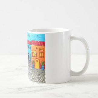 サルジニアの玉石の通り コーヒーマグカップ
