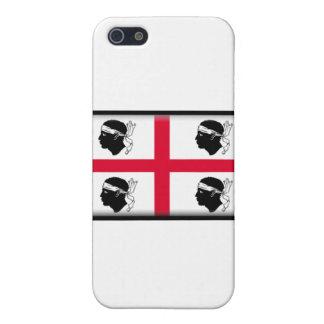 サルジニアイタリアの電話箱のテンプレート iPhone 5 COVER