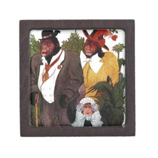 サル家族-ベビーのチンパンジー ギフトボックス