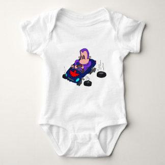 サル車 ベビーボディスーツ