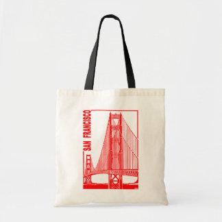 サンのフランシスコ金ゲート橋 トートバッグ