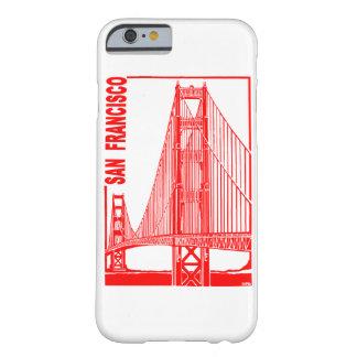 サンのフランシスコ金ゲート橋 BARELY THERE iPhone 6 ケース