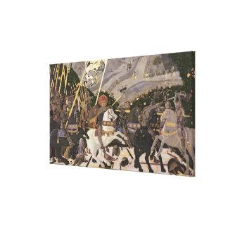 サンのロマノ、c.1438-40の戦い キャンバスプリント