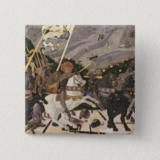 サンのロマノ、c.1438-40の戦い 5.1cm 正方形バッジ