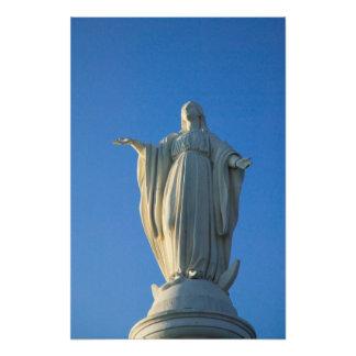サンの聖母マリアの118足の彫像 フォトプリント