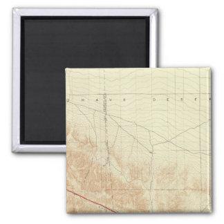 サンアンドレアスの切れ間を示すサン・アントニオの四角形 マグネット