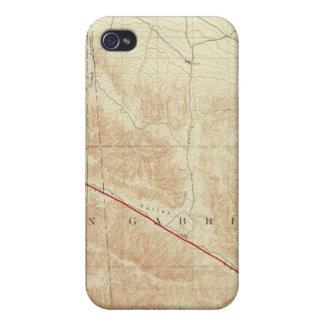 サンアンドレアスの切れ間を示すサン・アントニオの四角形 iPhone 4/4S ケース