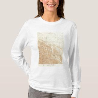 サンアンドレアスの切れ間を示すサン・アントニオの四角形 Tシャツ