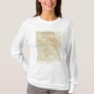 サンアンドレアスの切れ間を示すサンJacintoの四角形 Tシャツ