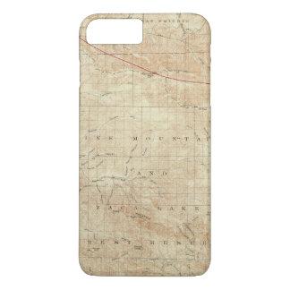 サンアンドレアスの切れ間を示すMt Pinosの四角形 iPhone 8 Plus/7 Plusケース